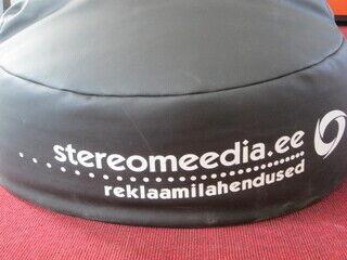 Säkkituoli Logolla