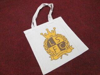 Riidest kott logoga