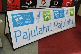 Soft banner Pajulahti 300x100cm