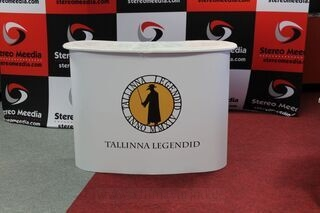 Big exhibition table Tallinna Legendid