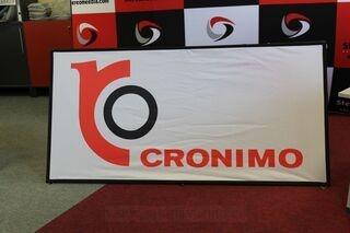 Kahepoolne reklaam Cronimo 2x1m