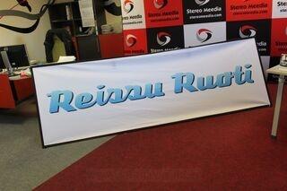 Reissu Ruoti 3x1m banner