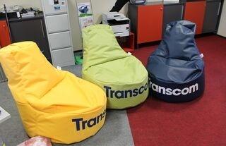 Säkkituolit Transcom