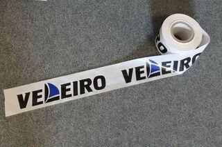 Ohutuslint logoga: Veleiro