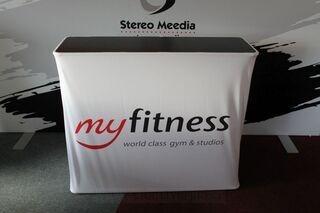 MyFitness mainospöytä