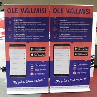 Roll up lux - Ole valmis!