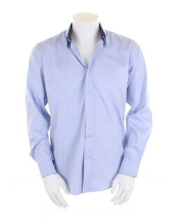 Contrast Premium Oxford Shirt LS