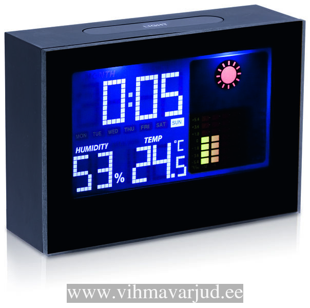 ecabf638c3d Ilmajaamad - VIHMAVARJUD - Elektrooniline kell/ilmajaam Dharma